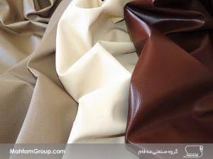 تولید انواع چرم مبلی با تنوع رنگ بالا در جهت تولید لوازم نشیمن و مبلمان منزل